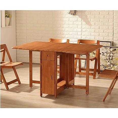 Tavolo per sala da pranzo, in legno massiccio, rettangolare, in ...