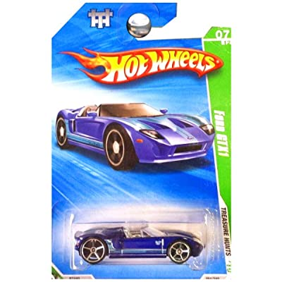 Hot Wheels 2010 Treasure Hunts Ford GTX1: Toys & Games