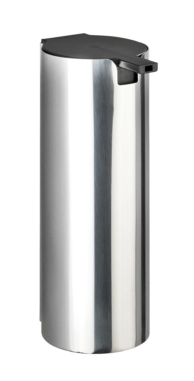 Wenko Turbo-Loc Edelstahl Seifenspender Detroit - Wand Flüssigseifen-Spender, Befestigen ohne bohren Fassungsvermögen: 0,24 l, Edelstahl rostfrei, 6 x ...