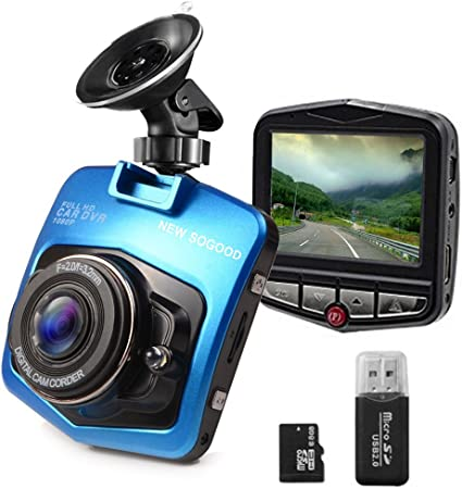 G-Sensor Dash Cam 1080P DVR Dashboard Camera Full HD 3 LCD Screen 170/°Wide Angle Pathinglek WDR Loop Recording Motion Detection Excellent Video Images Black