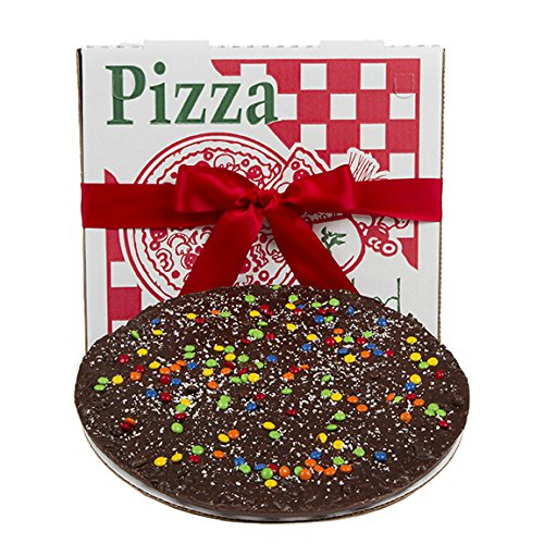 Sugar Plum Chocolates: Gourmet Dark Chocolate Pizza, Premium Quality Delicious Chocolaty Flavor - Just Right For Any Occasion Or Holiday - A Scrumptious Treat - Makes a Memorable (Zombie Pizza)