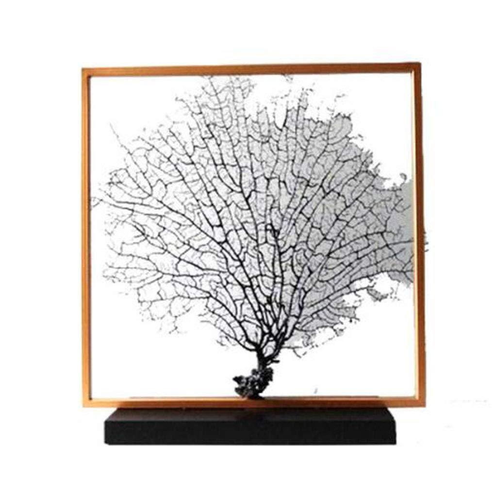 かごボックス 装飾工芸品/鉄工芸品中国のはす手作りのアートギフトホームアクセサリー完璧な贈り物 (Color : Black, Size : 48*12*51cm) 48*12*51cm Black B07STKWP5C
