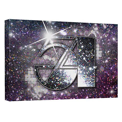Party Starts Here -- Studio 54 -- Stretched Canvas Framed Artwrap, -
