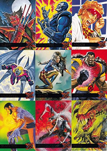 X-MEN 1995 FLEER ULTRA COMPLETE BASE CARD SET OF 150 MARVEL