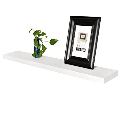Amazon WELLAND 40 Thickness Mission Floating Wall Shelf 40 4040 Interesting Thick Floating Wall Shelves