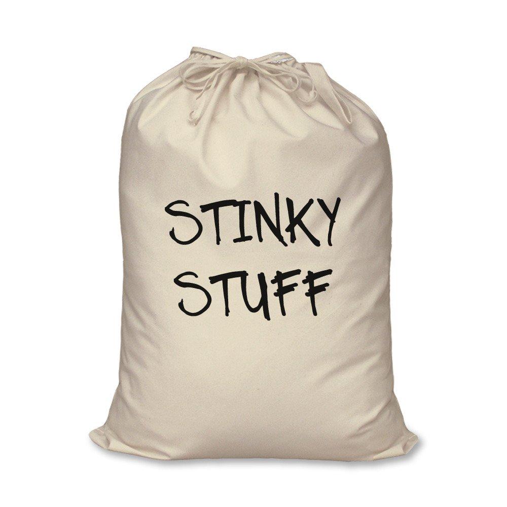 lavanderia Stinky Stuff teenager Student Gift 100% cotone naturale Home Storage organizzazione lavaggio cesto, Travel Size 46cm x 60cm 60 Second Makeover Limited