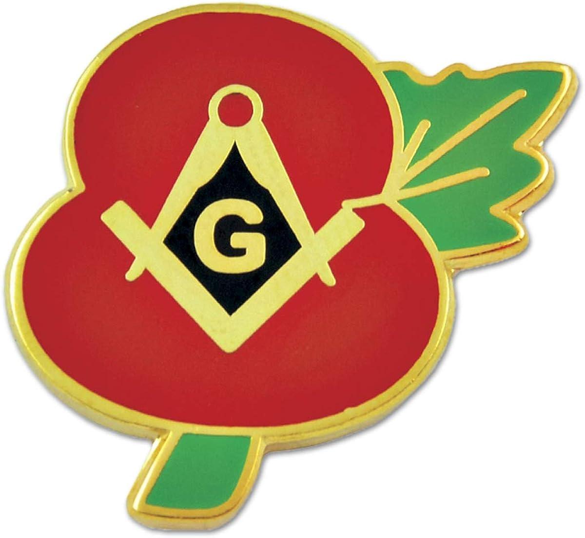 10 Years a Mason Masonic Commemorative Lapel Pin Badge *Exclusive*