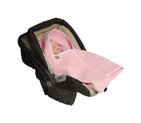 MoMika , Manta enveloppante, universal para portabebés, Auto asiento, para carrito, Paseo