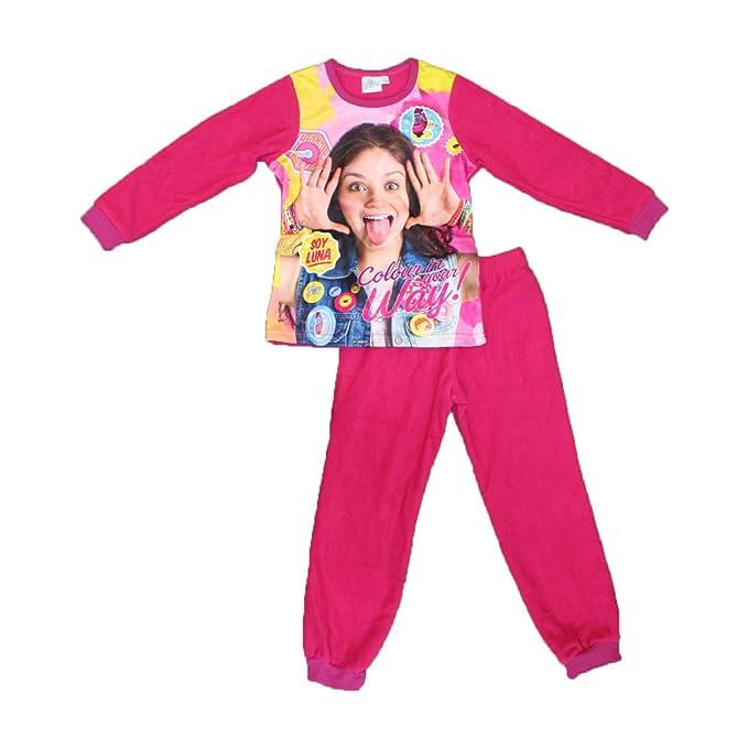 Soy Luna - Pijama - para niña Fucsia 4 años
