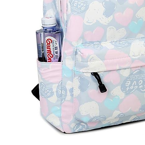 Amazon.com: Joymoze Leisure Backpack for Girls Teenage School Backpack Women Backpack Purse Love: Toys & Games
