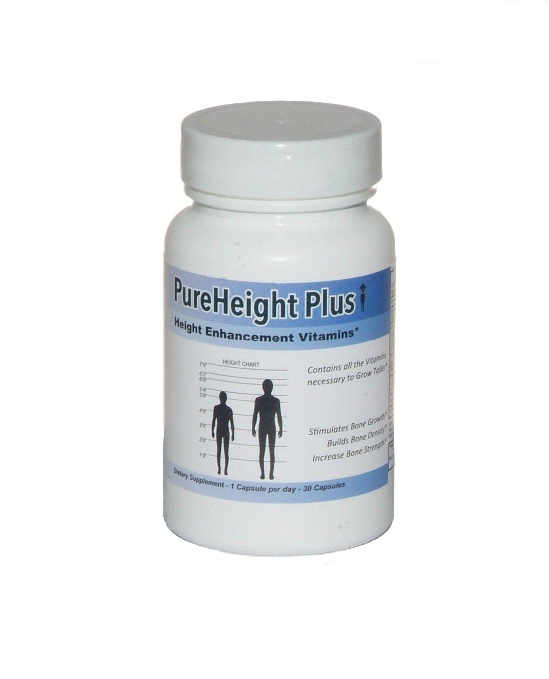 PureHeight Plus Height Enhancement Dietary Supplement (30 Capsules)
