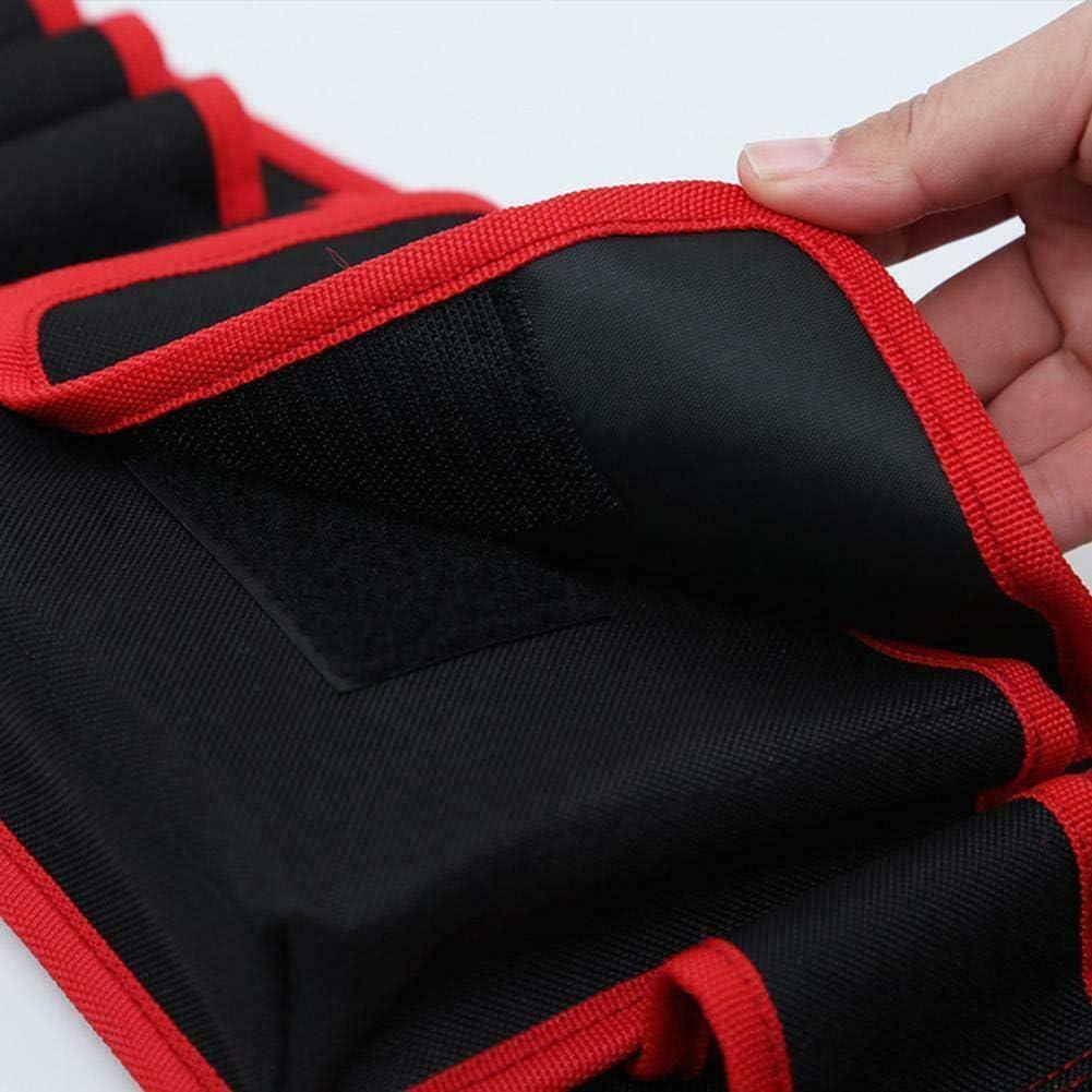 Llaves de electricista Bolsa de herramientas Bolsillo m/últiple Cinturones de herramientas ajustables Bolsa Bolsa de herramientas de electricista multifunci/ón Hand diamond