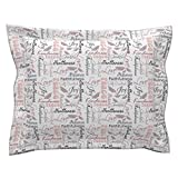 Roostery Christian Love Joy Peace Kindness Butterfly Scripture Pillow Sham by
