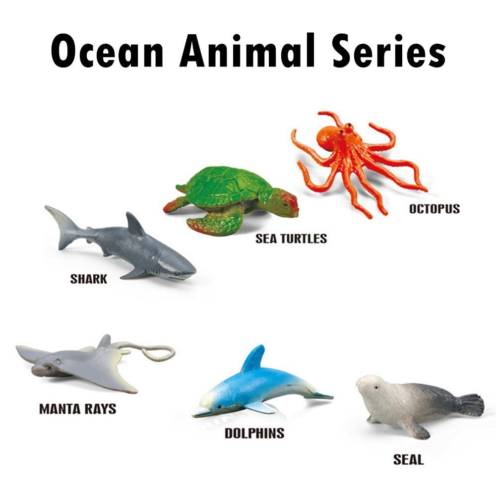 ... Take Apart Toy Ocean Sea Animals Toys Series ; All in one Submarine Toy ; 22 Inch Long Underwater Boat with Shark, Dolphin, Manta Ray, Octopus, Turtle, ...