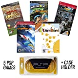 Toys : PSP MEGA 5 Game Bundle with UMD Case Holder