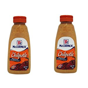 Mayonnaise with Chipotle Sauce McCormick (Pack of 2) 350 grams, 12.3 Ounces Mayonesa Chipotle McCormick (Pack of 2)