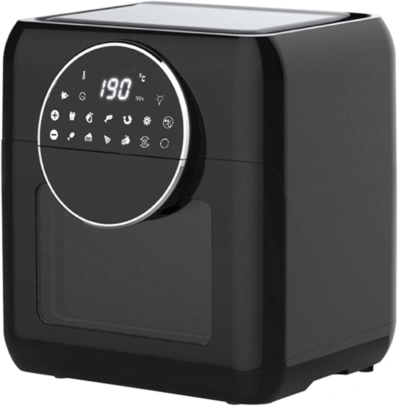 zaizai 10L Electric Air Fryer Rotisserie Oven, Digital Multi Air Cooker,Smart Operation Panel,Intelligent Rotary Heating,1500W, 9 Cooking Presets