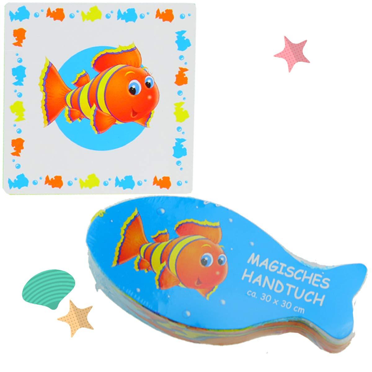Cepewa asciugamani magici Nemo pesci Set Mare abita waschlappen 30/cm bambini Mitgebsel