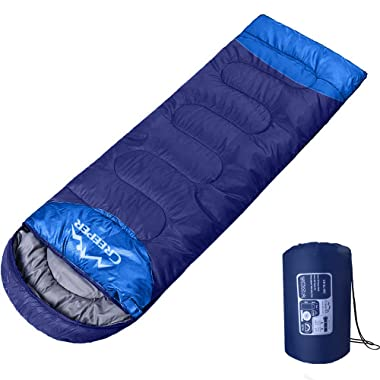 LOMIDA Camping Sleeping Bag - Envelope Portable Waterproof UltraLight Sleeping Bag for Adults & Kids Perfect for Traveling, Backpacking, Hiking and Outdoor Activities