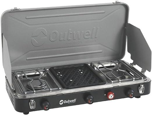 Outwell - Cocina para camping (3 fuegos)