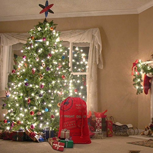 HOOPLE X'mas Present Sacks Christmas Bags for Kids Personalize Christmas Gift Wrap Santa Sacks (Random-6 packs) by Hoople (Image #9)