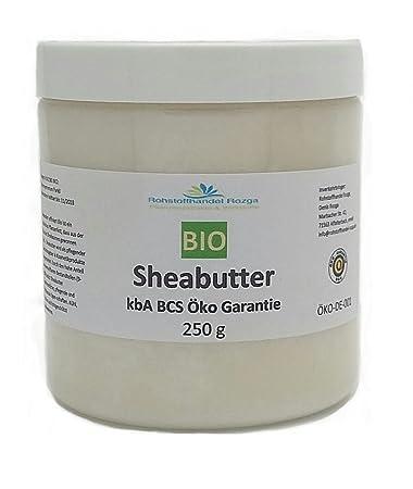 6,75€/ 250g) Sheabutter bio 250 g kbA zertifiziert 100% rein: Amazon ...