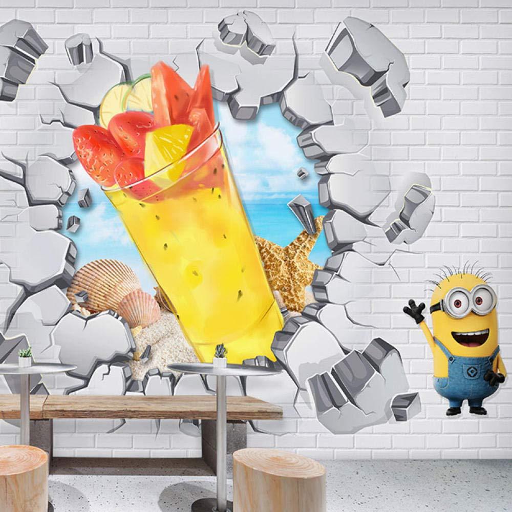 LYBH Papel tapiz mural 3D foto adhesiva fondo estéreo pared ...