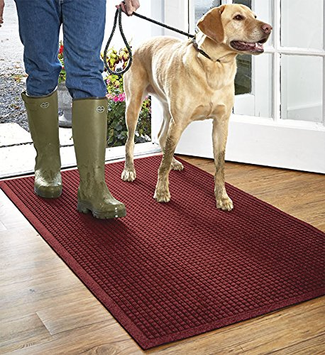 Orvis Grid Water Trapper Mat   3' X 7', Red Black,