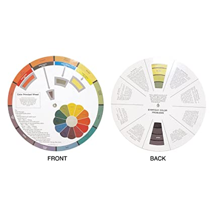 Buy Hair Art Color Wheel Education Tool Learn Handling And Mixing