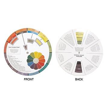 Amazon.com : Hair Art Color Wheel Education Tool Learn Handling And ...
