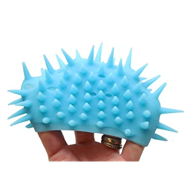 Curious Minds Busy Bags Flip Inside - Out - Double Sided Sensory Spiky Puffer Ball - Sensory Fidget and Stress Balls - OT Autism SPD (Random Color): Toys & Games