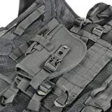 Shootmy-Outdoor-Lightweight-Cs-Law-Enforcement-Tactical-Vests-with-Adjustable-Pockets-Velcro-Closure-for-Hunting-and-Shooting-Black