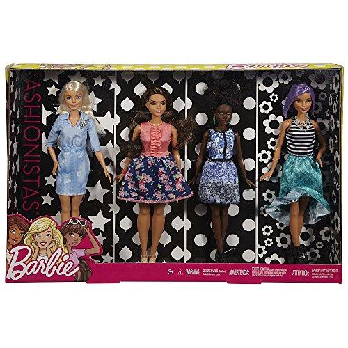 Shopper Trim (Barbie Fashionistas Dolls 4-Pack)