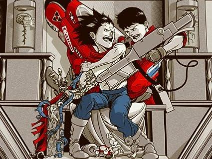 Sv1048 Akira Movie Kaneda Vs Tetsuo Anime Manga Art Artwork 24x18 Print Poster Amazon Co Uk Welcome