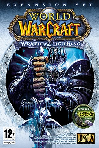 CGC Huge Poster - World of Warcraft Wrath of Lich King BOX A