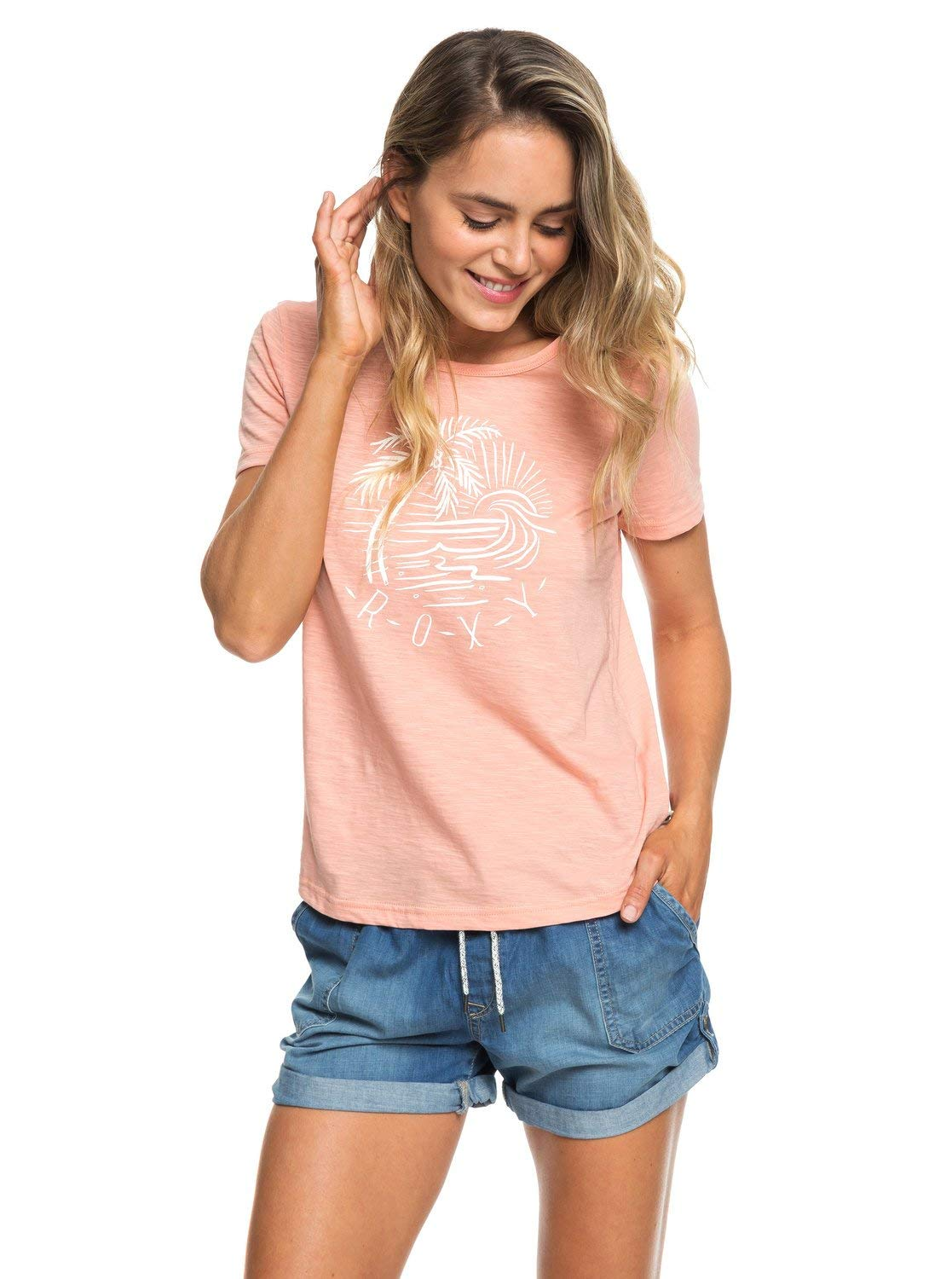 Roxy Red Lines tee-Shirt Mujer