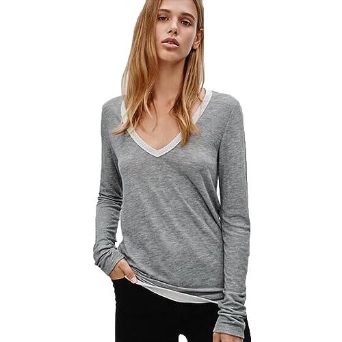 Kukul Elastic Basic Shirt, Camiseta de manga larga 2017 Camisa básica elástica