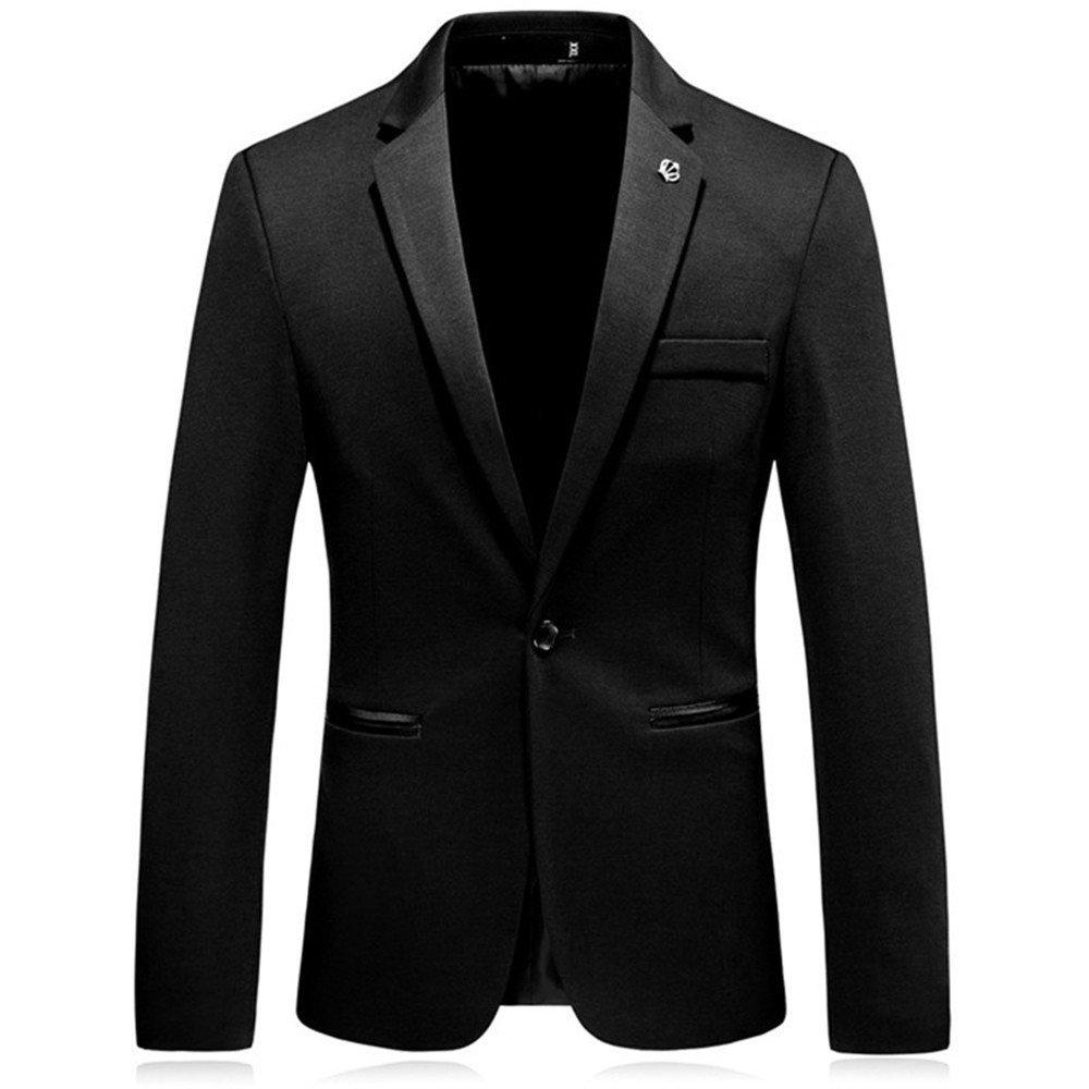 Sndofej männer im Anzug männer ist lässig, Aber auch Westen Mantel größe Freizeitanzug,schwarz,l
