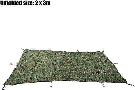 Tactical camuflaje militar caza Camping tienda de campaña para coche (toldo refugio parasol – Red de camuflaje 2 m x 3 m: Amazon.es: Deportes y aire libre