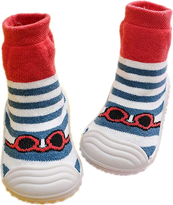 Danvi co Baby Toddler Sock Shoes Stretch Knit Sneakers Kids Slippers Unisex Speed Trainer Runner 6-36 Months