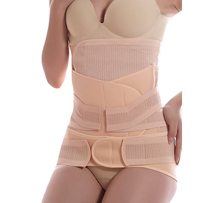 Dexinx Simple Light Weight Post Maternity Girdle Women Postpartum Belly Wrap Band Maternity Recovery Support Waist Belt