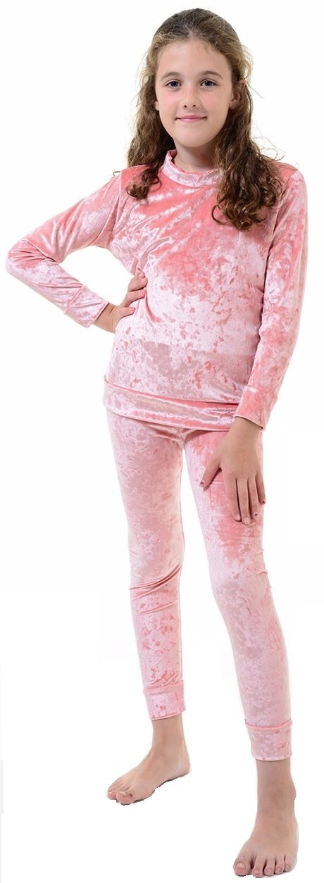 Red Olives® Kids Velour Tracksuit Jogging Sweatshirt Top Bottom Two Piece Set Girls Crushed Velvet Loungewear 7/8 Years, 9/10 Years, 11/12 Years, 13 Years