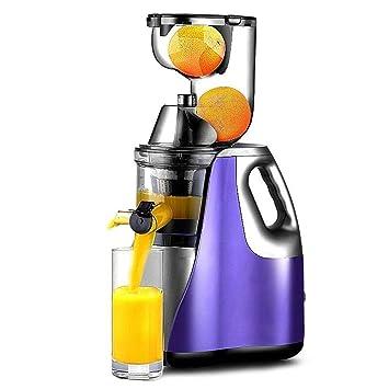 HhGold Exprimidor de Juicer de Gran diámetro Inicio Automático Multifunción de Frutas y Verduras Jugo de