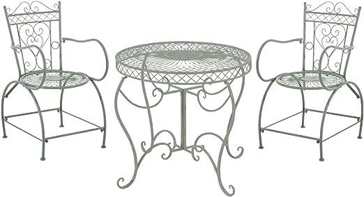 LD Asiento Grupo Sheela Bistro Set Muebles de Jardín Mesa & 2 x ...