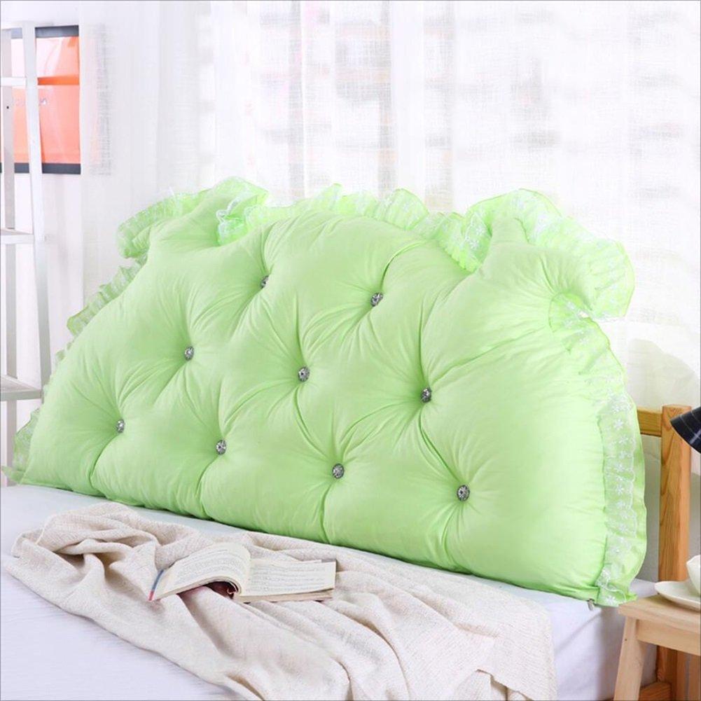 BZKD 背部のクッションのソファベッド大の充満したダブルベッドルームのベッド背もたれの枕の読書用の枕オフィス腰のパッドの取り外し可能なカバー (色 : A, サイズ さいず : 150*70cm) B07DWX4M5M A 150*70cm