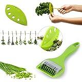 Best Vegetable Kitchen Gadgets//Stripping Tools VANVENE 2 Pack Professional Chard//Collard Greens//Kale//Basil//Leafy Green//Rosemary Herb Stripper