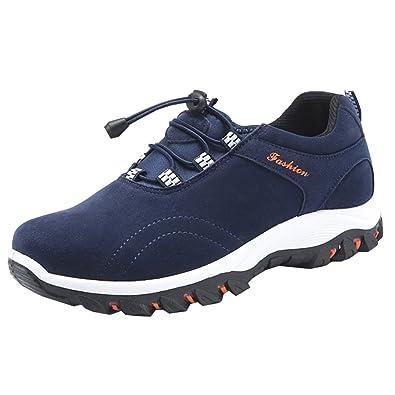 Zongsen Homme Chaussures Randonnée Marche De Respirant ZPuXik