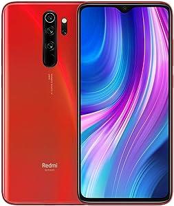 """Xiaomi Redmi Note 8 Pro Teléfono 6GB RAM + 128GB ROM, Pantalla Completa de 6.53"""", CPU MTK Helio G90T Octa-Core, 20MP Frontal y 64MP AI Cuatro Cámara Trasera Móviles Versión Global (Naranja)"""