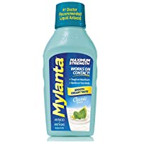 Mylanta Antacid and Gas Relief, Maximum Strength Formula, Classic Flavor, 12 Fluid Ounce