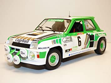 Solido S1801303 Renault R5 Turbo - Rally Grupo B 1985 #6 1:18: Amazon.es: Juguetes y juegos